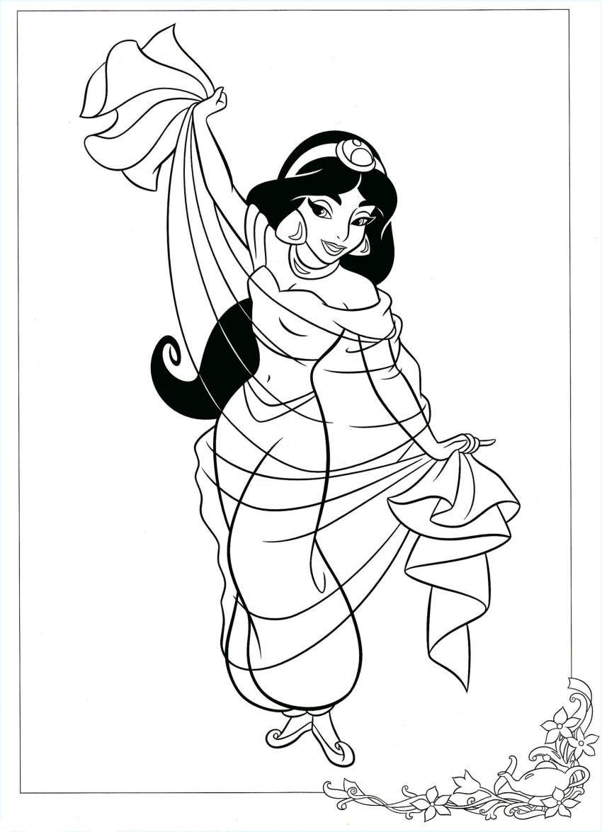 Colorear Aladino cinco | CIBERCUENTOS