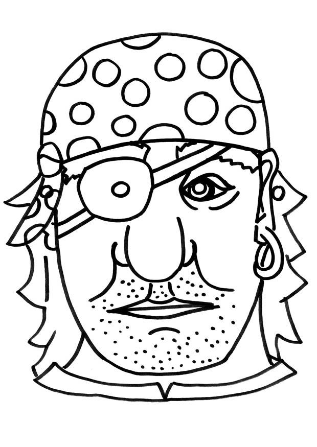 Maestra de infantil piratas dibujos para colorear - Pirata colorazione pirata stampabili ...