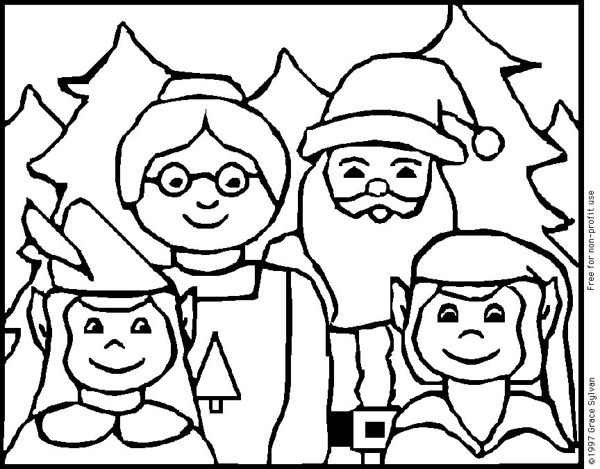 Colorea la navidad 3 | CIBERCUENTOS