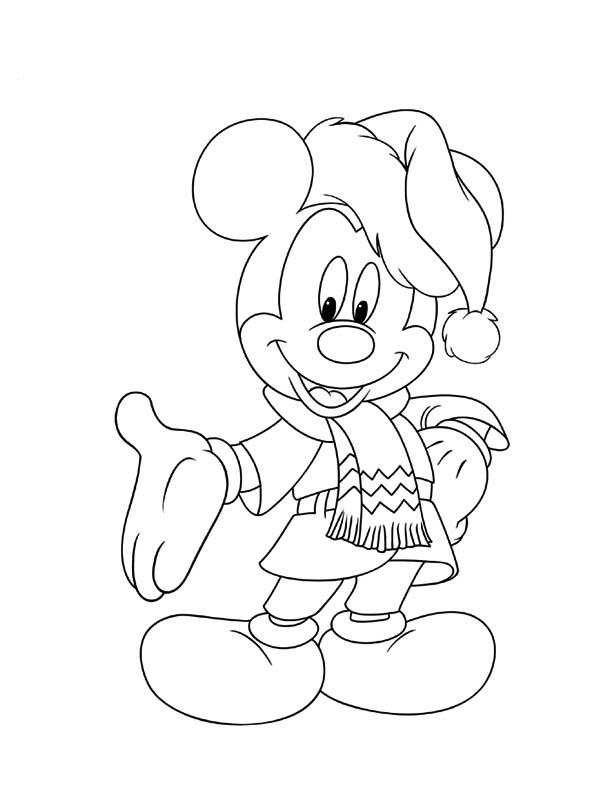 Colorea Navidad Disney 1 Cibercuentos